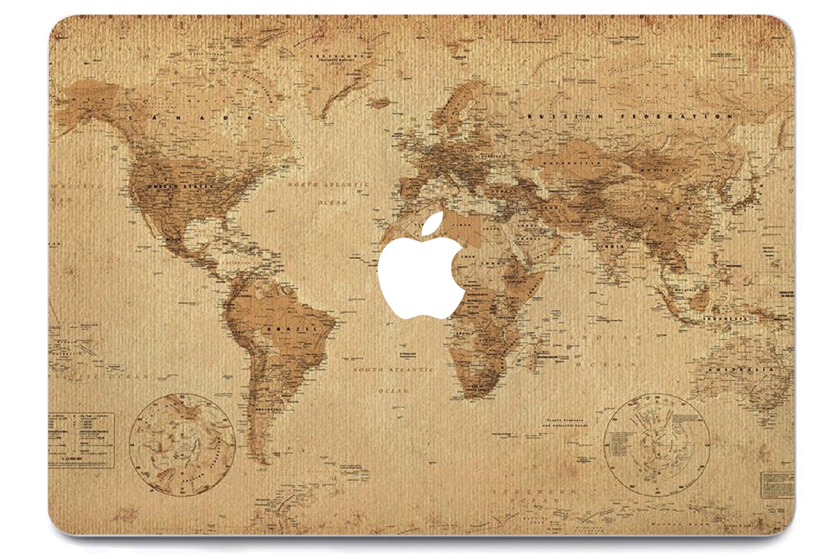 Skin Old World Map pour MacBook Pro Air