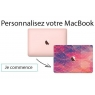 Sticker pour MacBook sur mesure