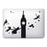 Stickers pour MacBook Peter Pan