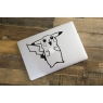Stickers pour MacBook Pikachu