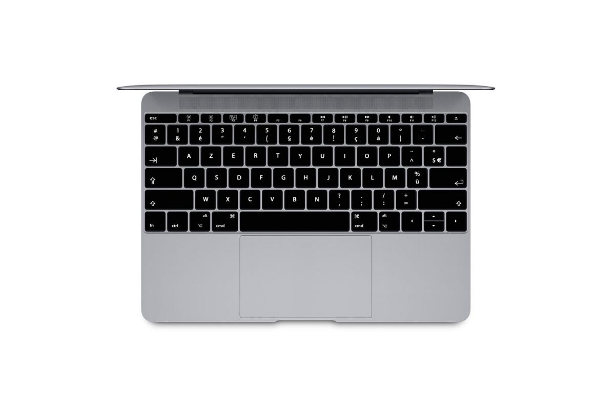 Sticker conversion QWERTY vers AZERTY MacBook Pro et Air