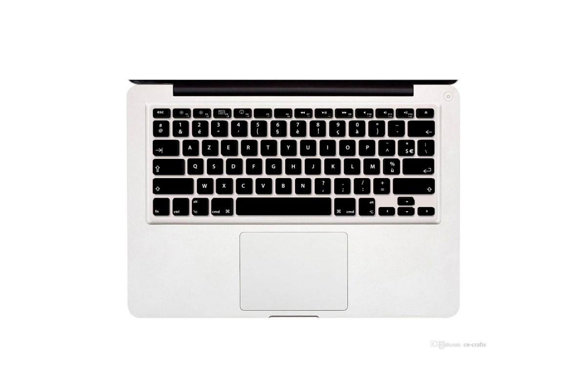 Sticker conversion QWERTY vers AZERTY MacBook Pro et Air