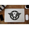 Stickers Wonder Woman pour MacBook Pro Air