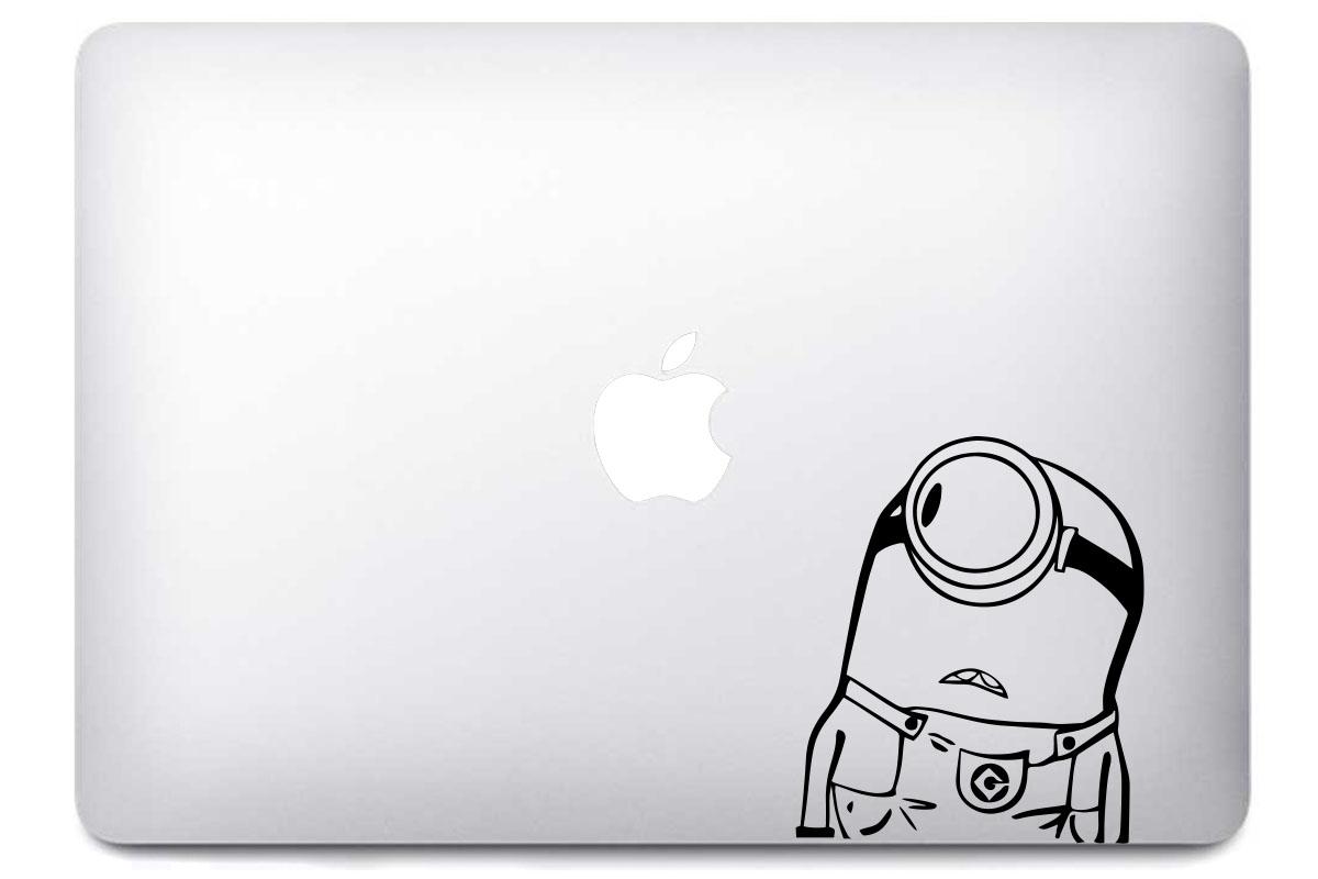 Stickers Les Minions pour MacBook