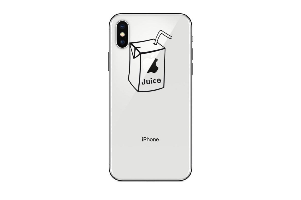 Stickers Apple Juice pour iPhone