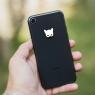 Autocollant Cat Woman pour iPhone