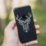 Autocollant Cerf Origami pour iPhone