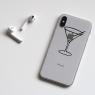 Autocollant Cocktail pour iPhone