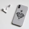 Stickers Diamant pour iPhone
