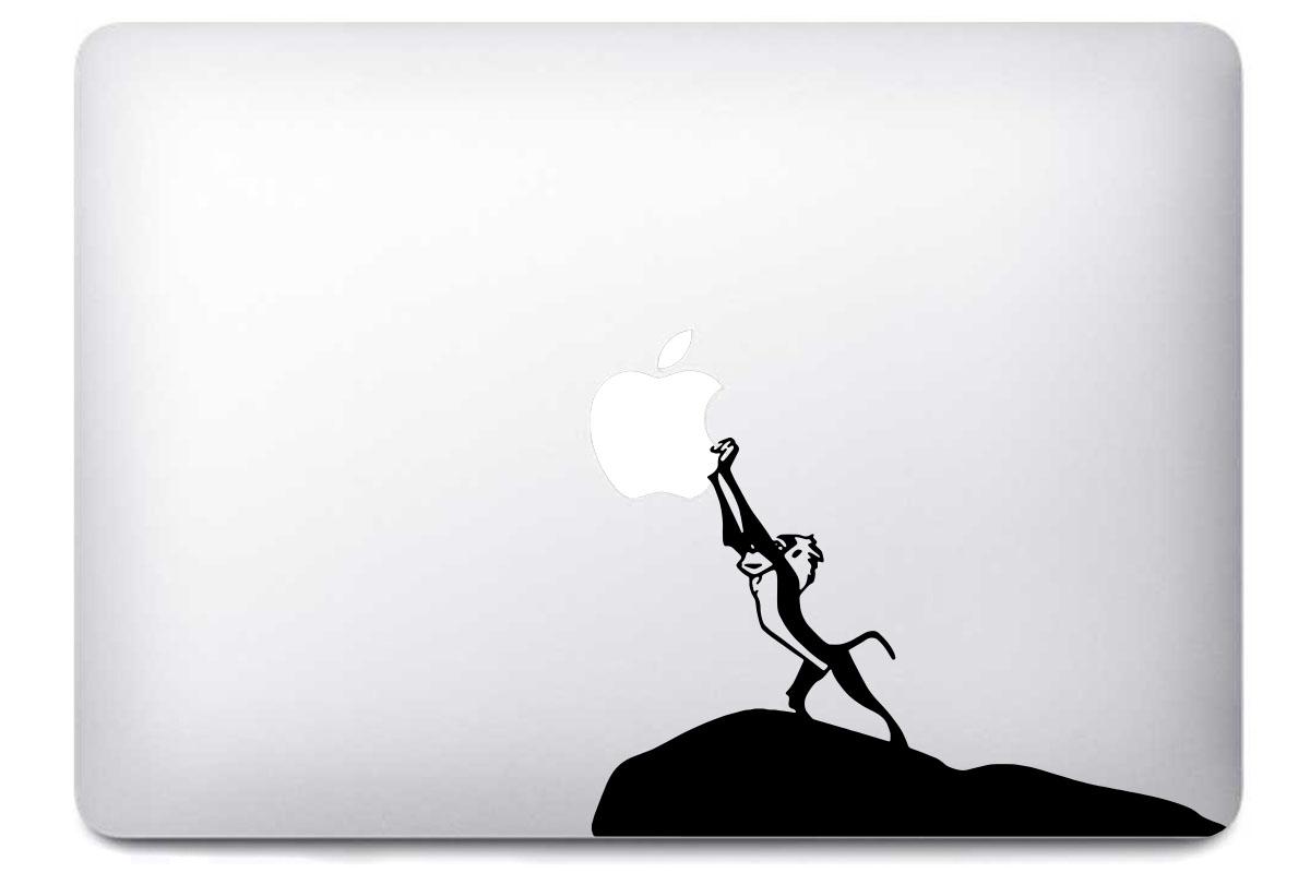 Sticker Rafiki Le Roi Lion pour MacBook Pro Air