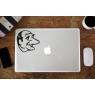 Stickers Jacques Chirac pour MacBook Pro Air