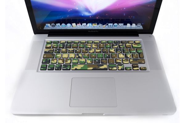 Stickers Camo pour clavier MacBook