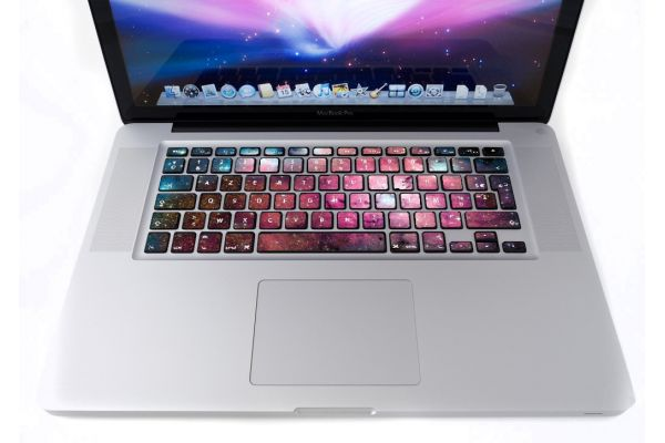 Stickers Galaxie pour clavier MacBook