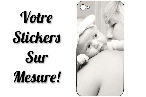 Stickers personnalisé pour iPhone