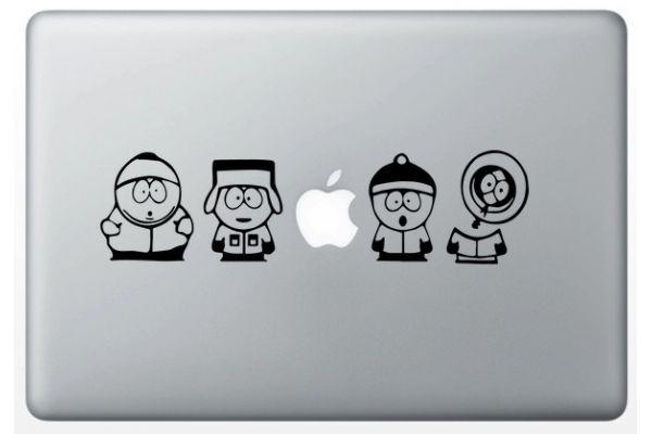 Stickers South Park pour MacBook
