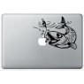 Stickers Poisson pour MacBook