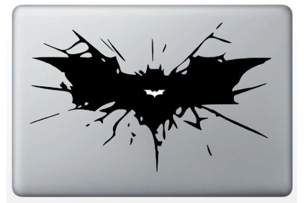 Sticker Batman pour MacBook