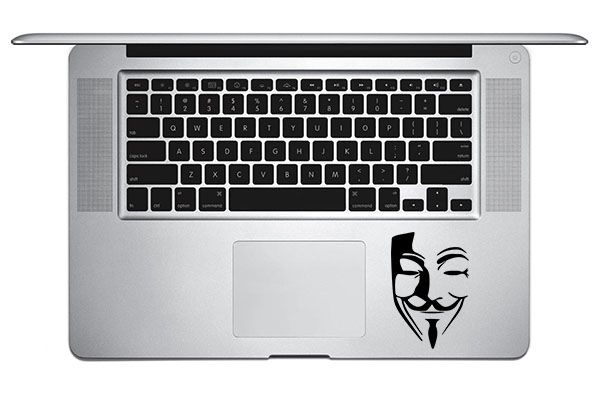 Stickers Anonymous TrackPad Mac