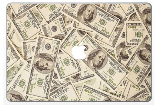 Skin dollar pour MacBook