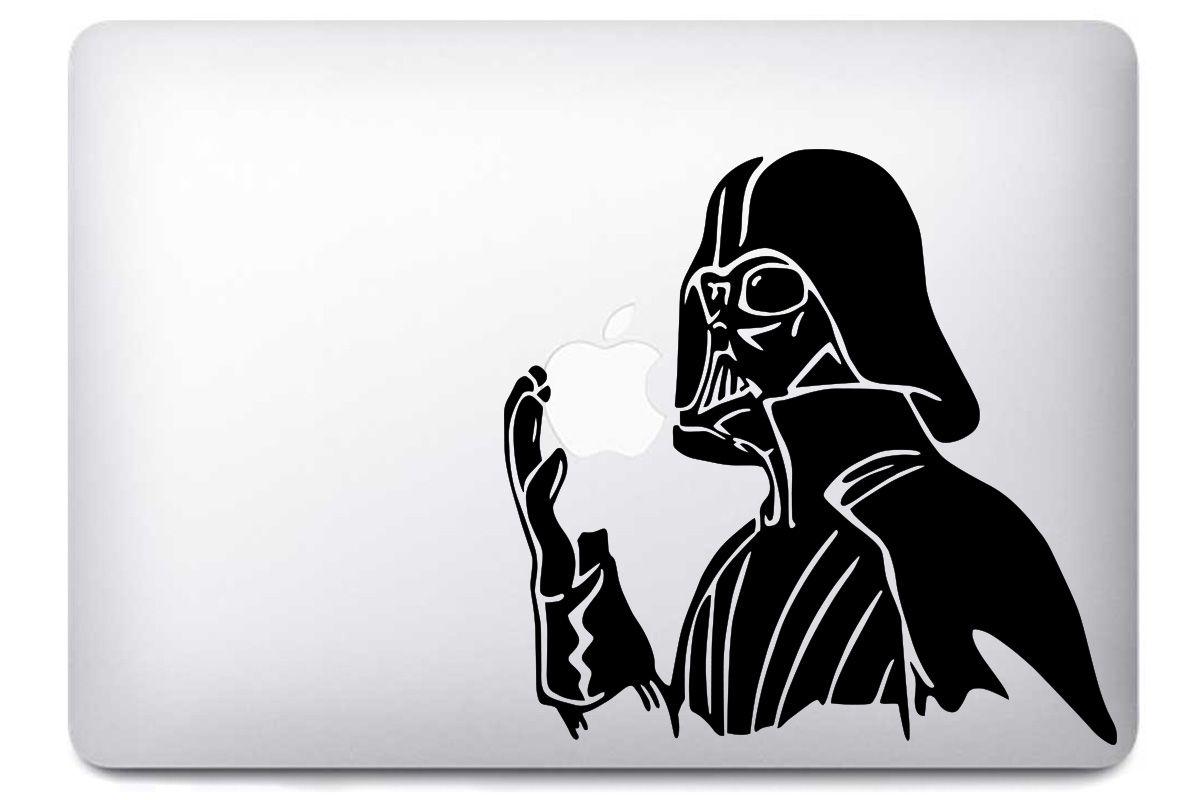 Sticker dark vador star wars pour macbook apple 11 13 15 for Autocollant mural star wars