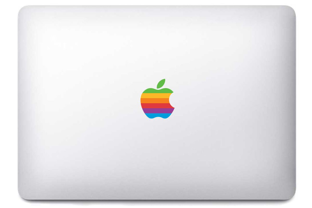 "Sticker ""Apple Old School"" pour MacBook et iMac"