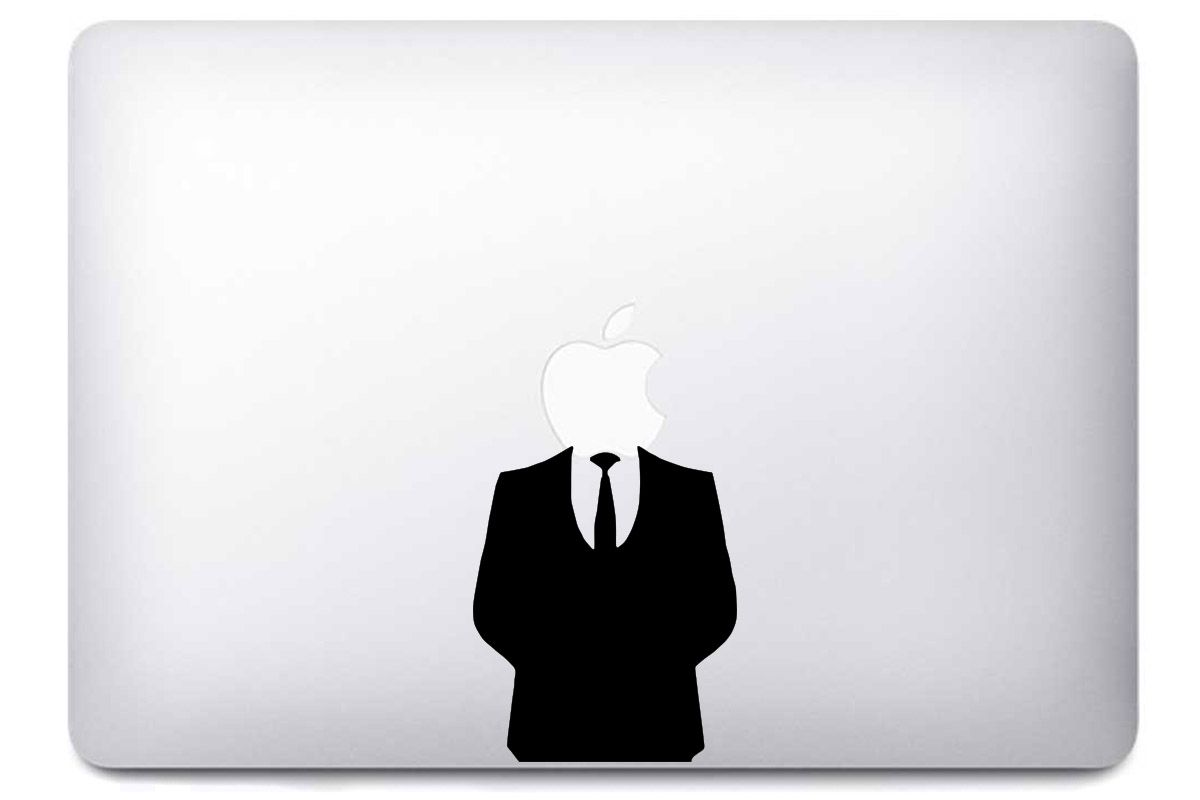 "Autocollant ""Business Man"" pour Macbook"
