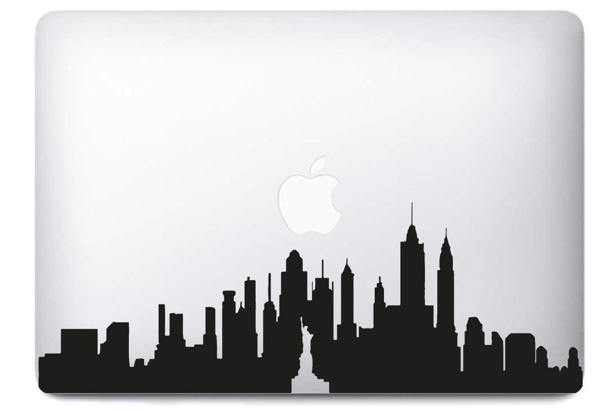 Stickers New York pour Mac