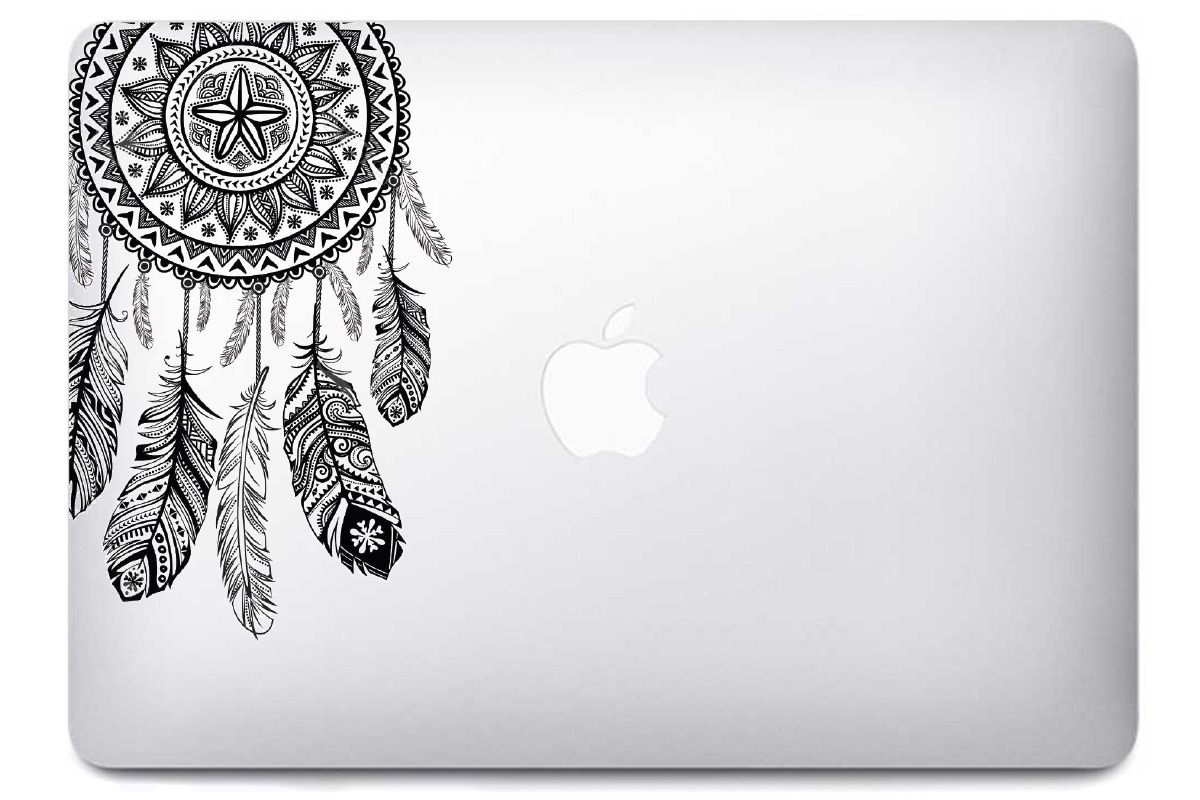 Autocollant dreamcatcher MacBook