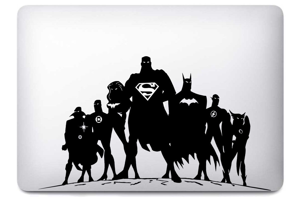 "Stickers ""Heroes"" pour MacBook Pro & Air"