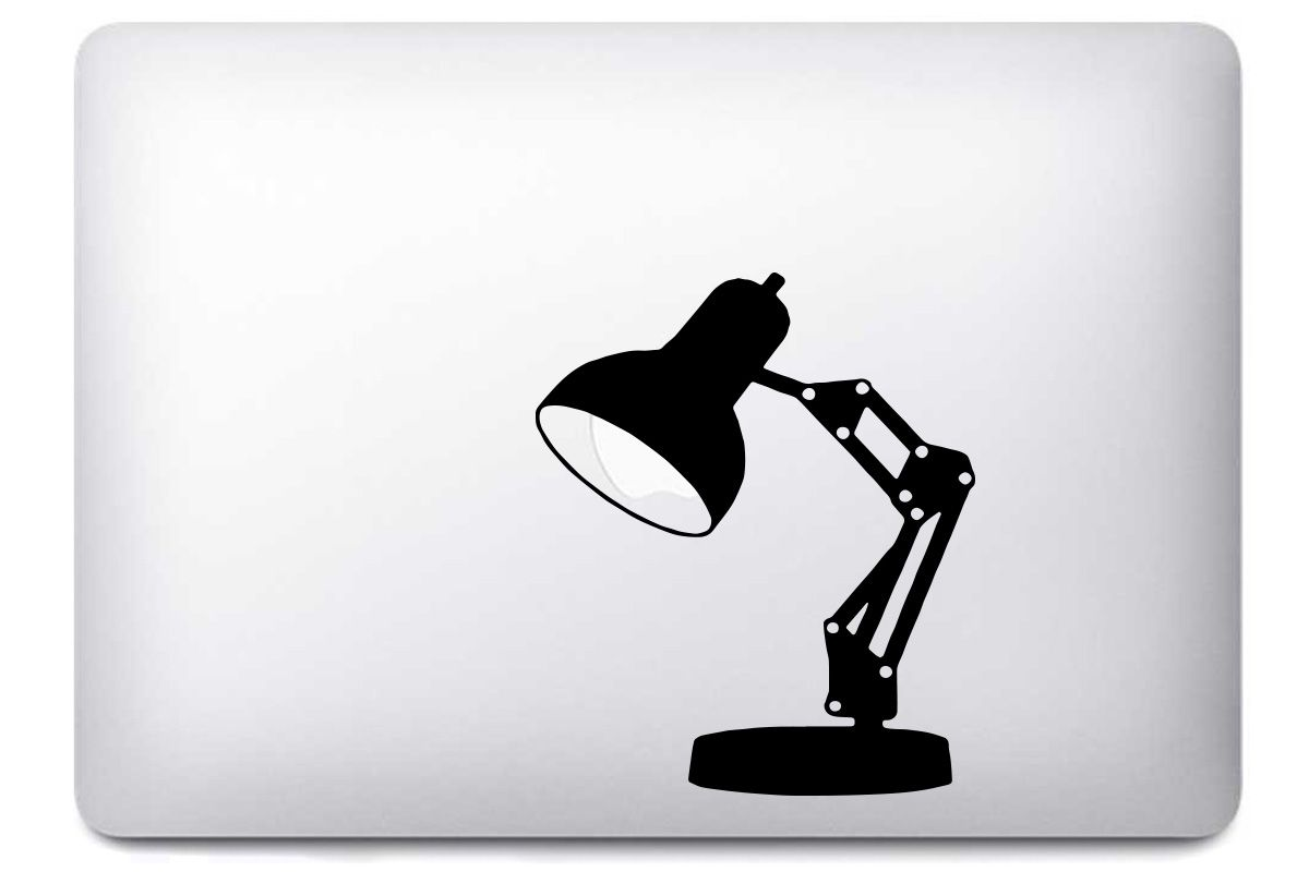 Stickers Lampe pour MacBook Pro Air