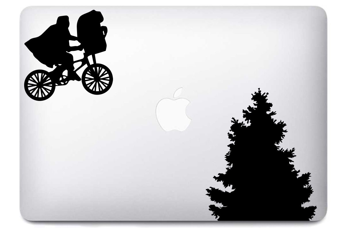 Sticker E.T pour MacBook