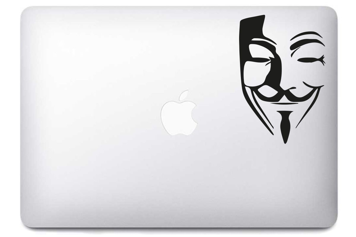 Stickers Mac Anonymous