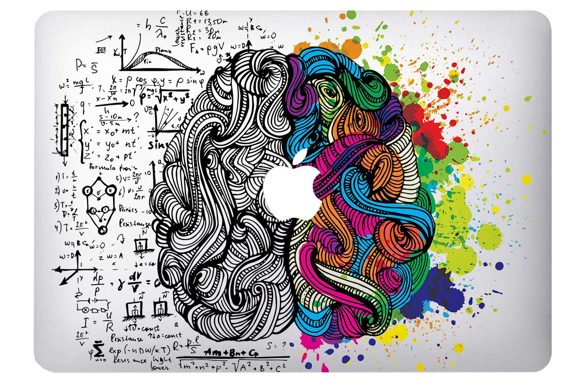 Skin Brain pour MacBook
