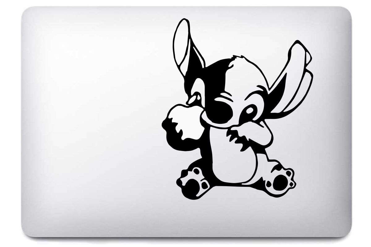 Stickers Stitch pour MacBook