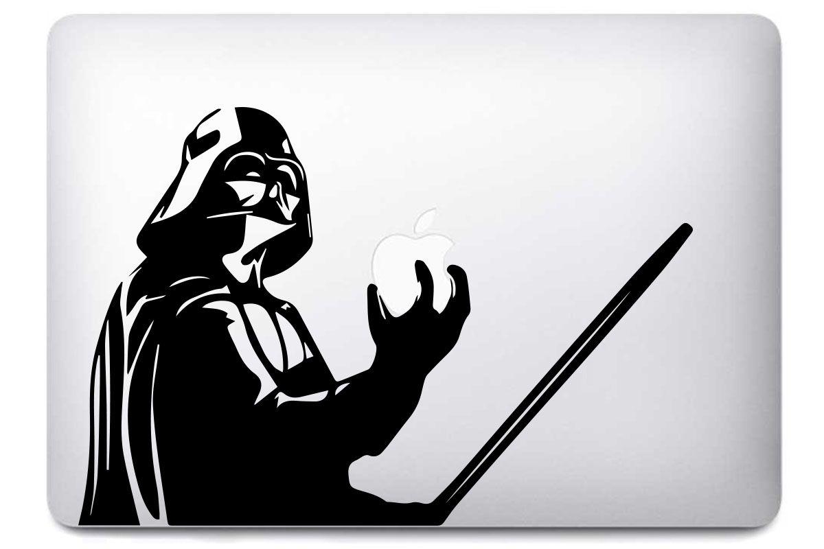 """Autocollant """"Dark Vador Sabre"""" pour MacBook"""