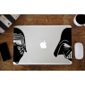 Stickers Dark Vador & Kylo Ren pour MacBook