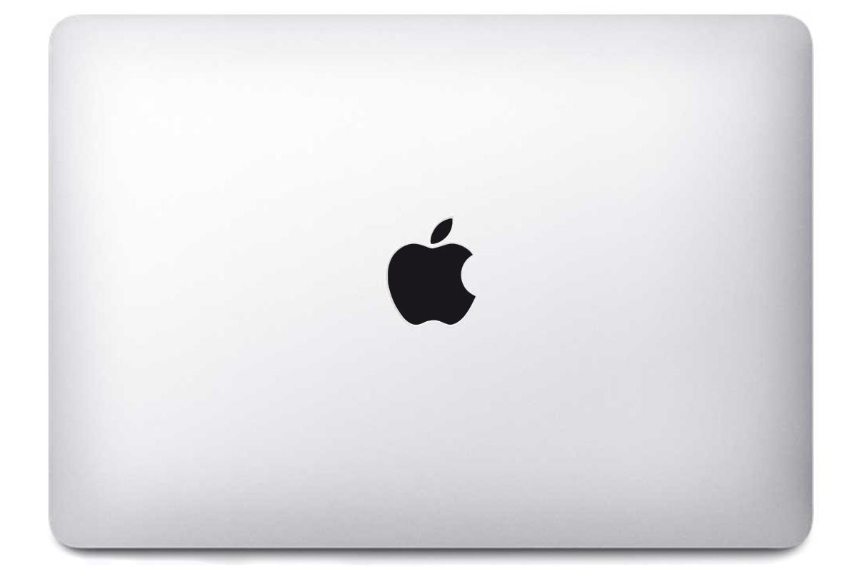 Logo Apple pour MacBook noir ou blanc