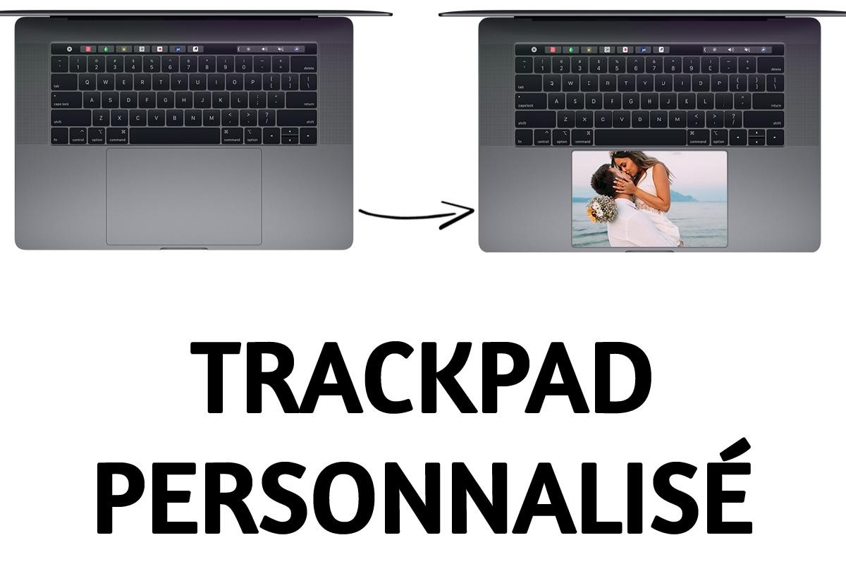 Sticker pour TrackPad personnalisé