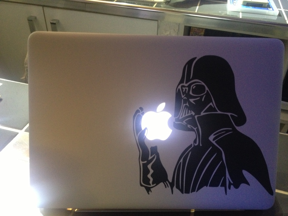 Sticker MacBook Dark Vador