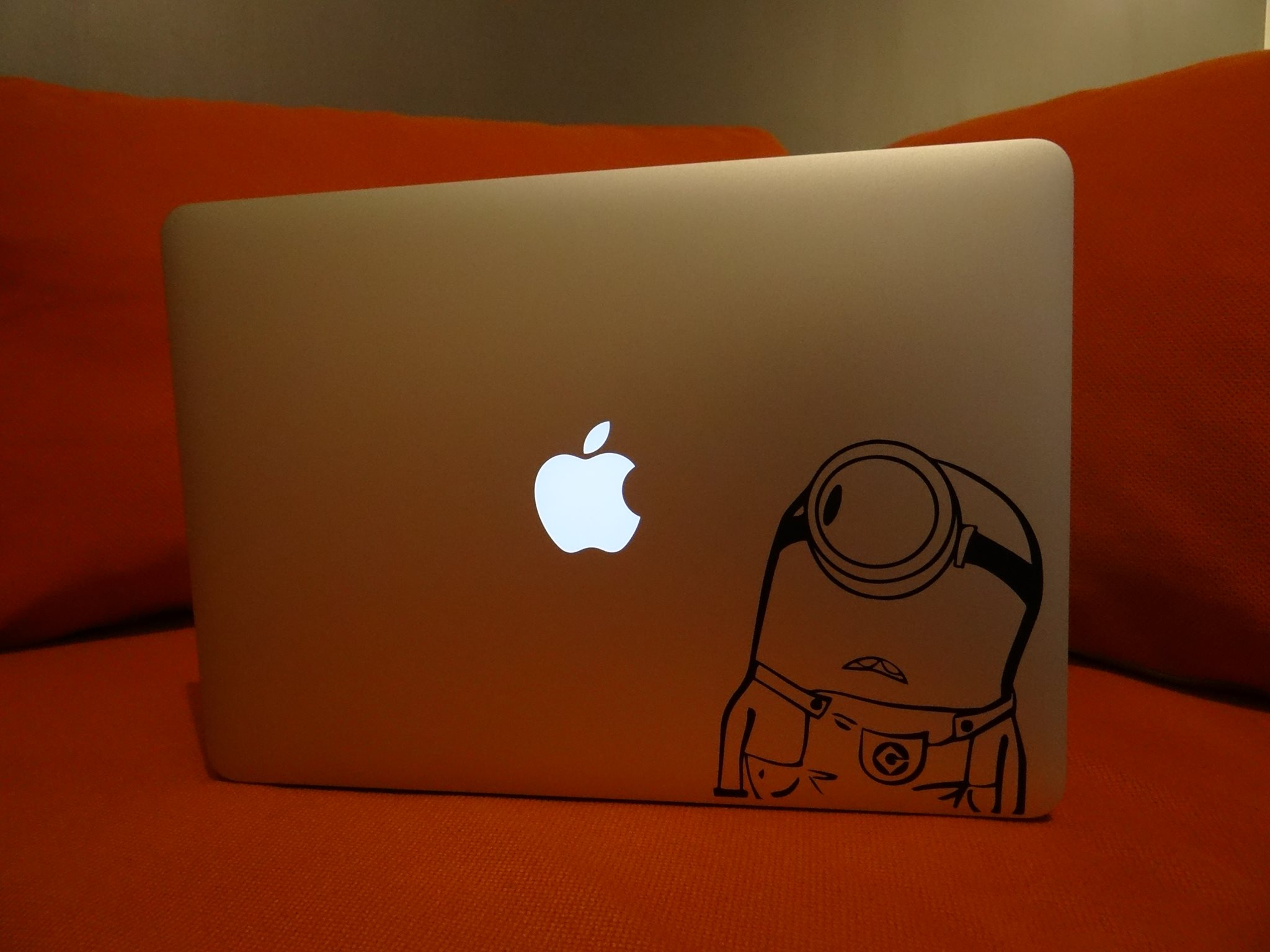 Sticker MacBook Les Minions