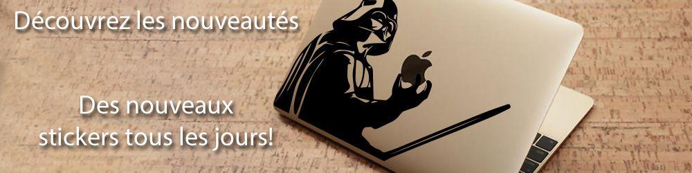 Nouveaux stickers mac