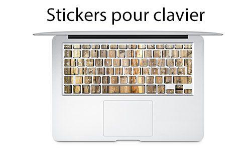 Sticker pour clavier