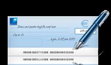 Paiement par chèque